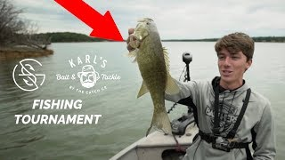 The LARGEST fishing Youtuber Tournament EVER! (Part 1)