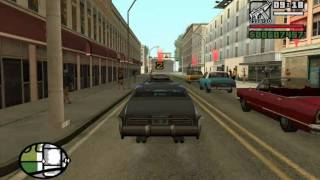 GTA San Andreas - High Stakes, Low-Rider (Cesar Mission #1) - from the Starter Save - Mission Help