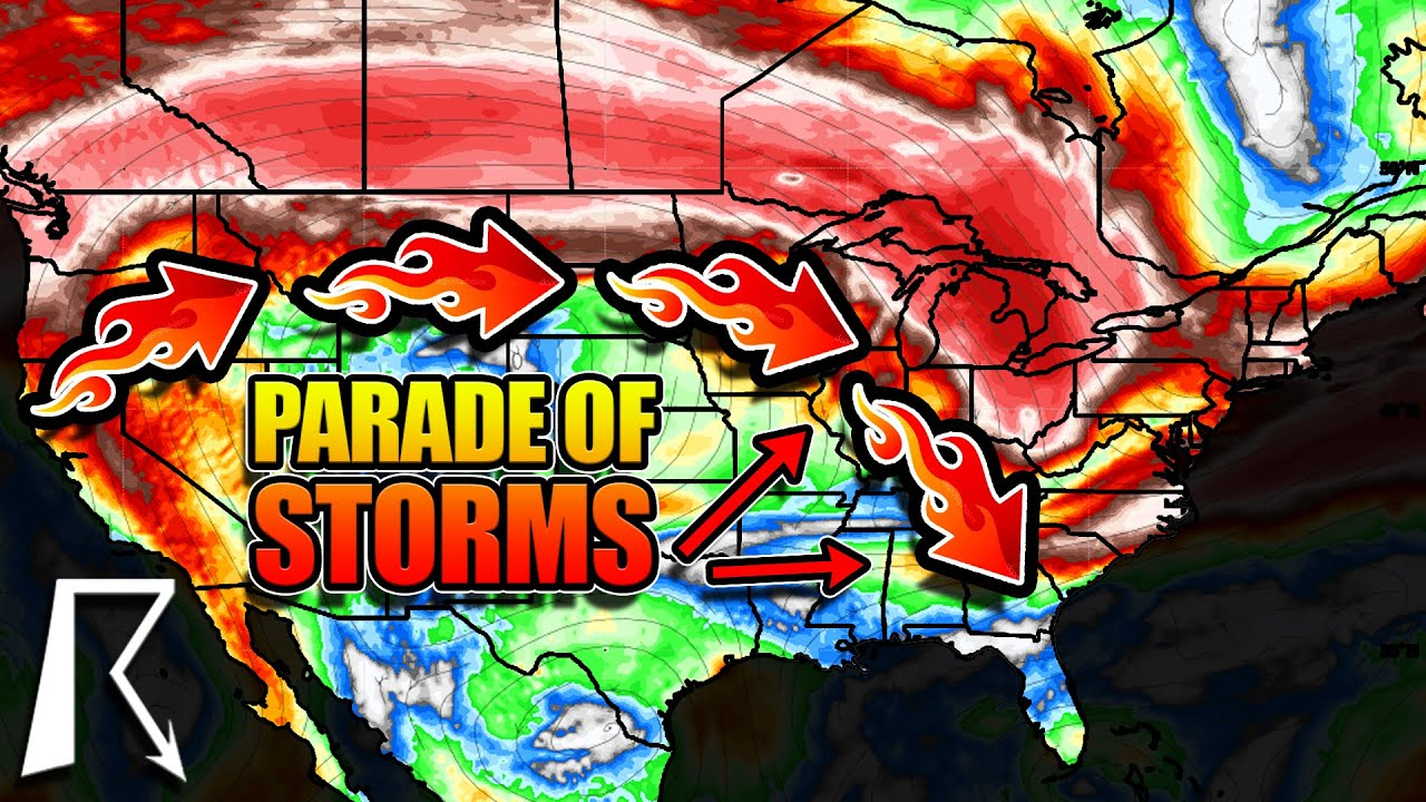 Monster Ring Of Fire Storm To Bring Flash Flooding, Damaging Winds, and more…