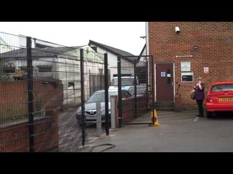 Wire Mesh Fencing - St John Ambulance Service Croyden London