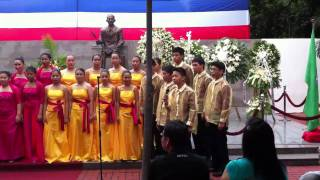 Pilipinas Kong Mahal & Panunumpa sa Watawat - Manila Science High School Chorale