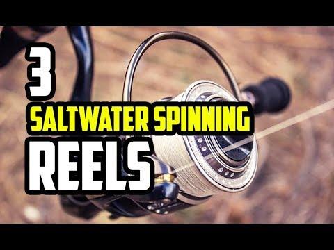 Top 3 Best Saltwater Spinning Reels2019 - 2020 | Reviews & Guide