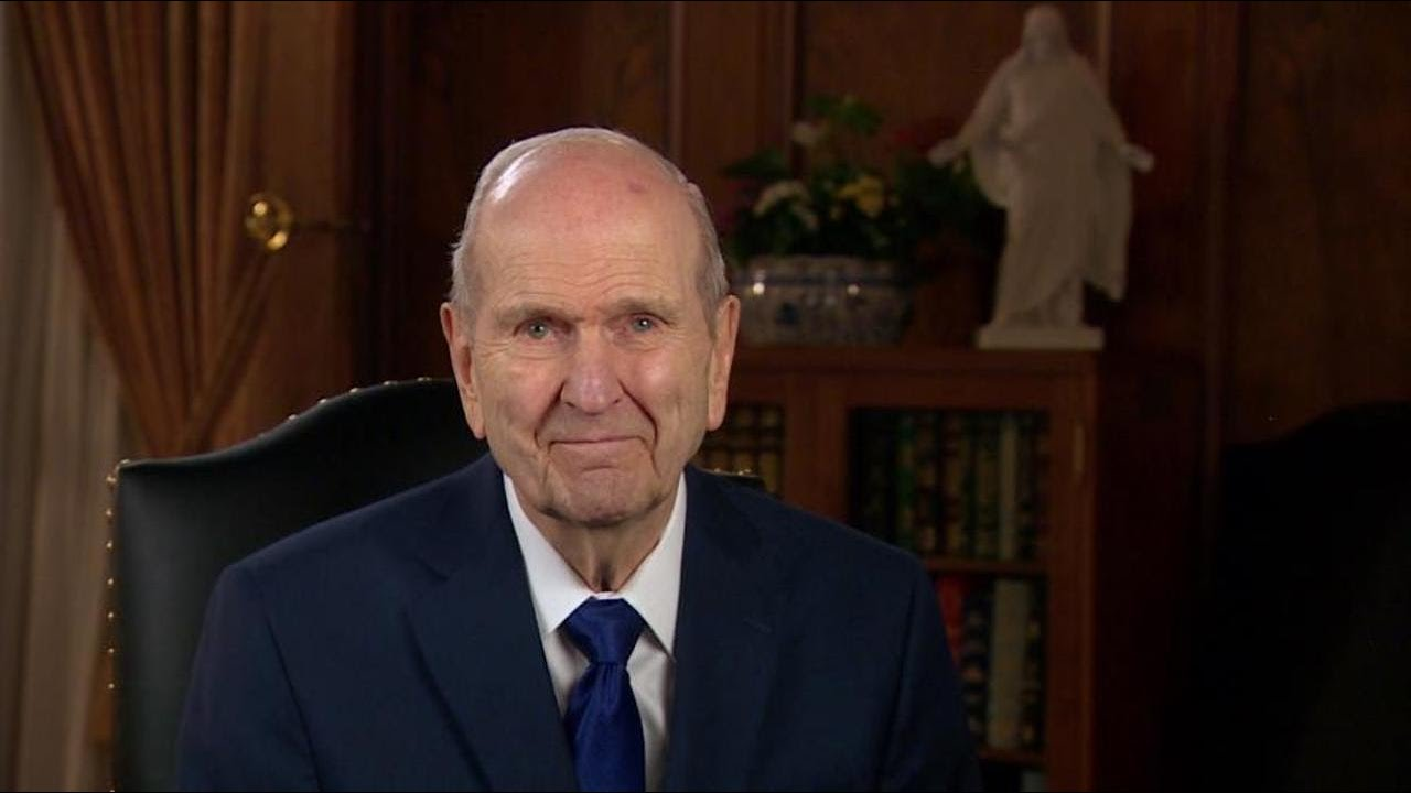 President Russell M. Nelson Invites All to Join in Fast for Relief from COVID-19 - YouTube