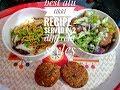 Best alu tikki recipe : served in 2 different styles