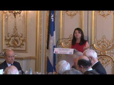 France-Québec : une relation unique, des ambitions communes