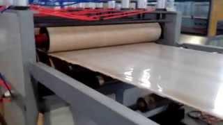 Turkey Customer Wpc Pvc Co-extrusion Skinning Foam Board Machine