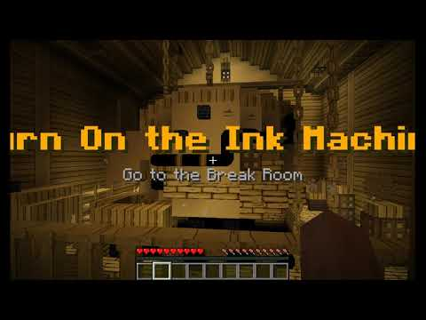 Minecraft Bendy And The Ink Machine Chapter 1 Map