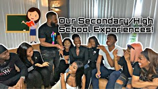 """OUR SECONDARY/HIGH SCHOOL EXPERIENCES """"I BEAT A GIRL UP WITH MY BELT"""""""