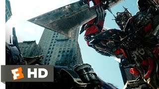 Transformers: Dark of the Moon (9/10) Movie CLIP - Prime vs. Prime (2011) HD