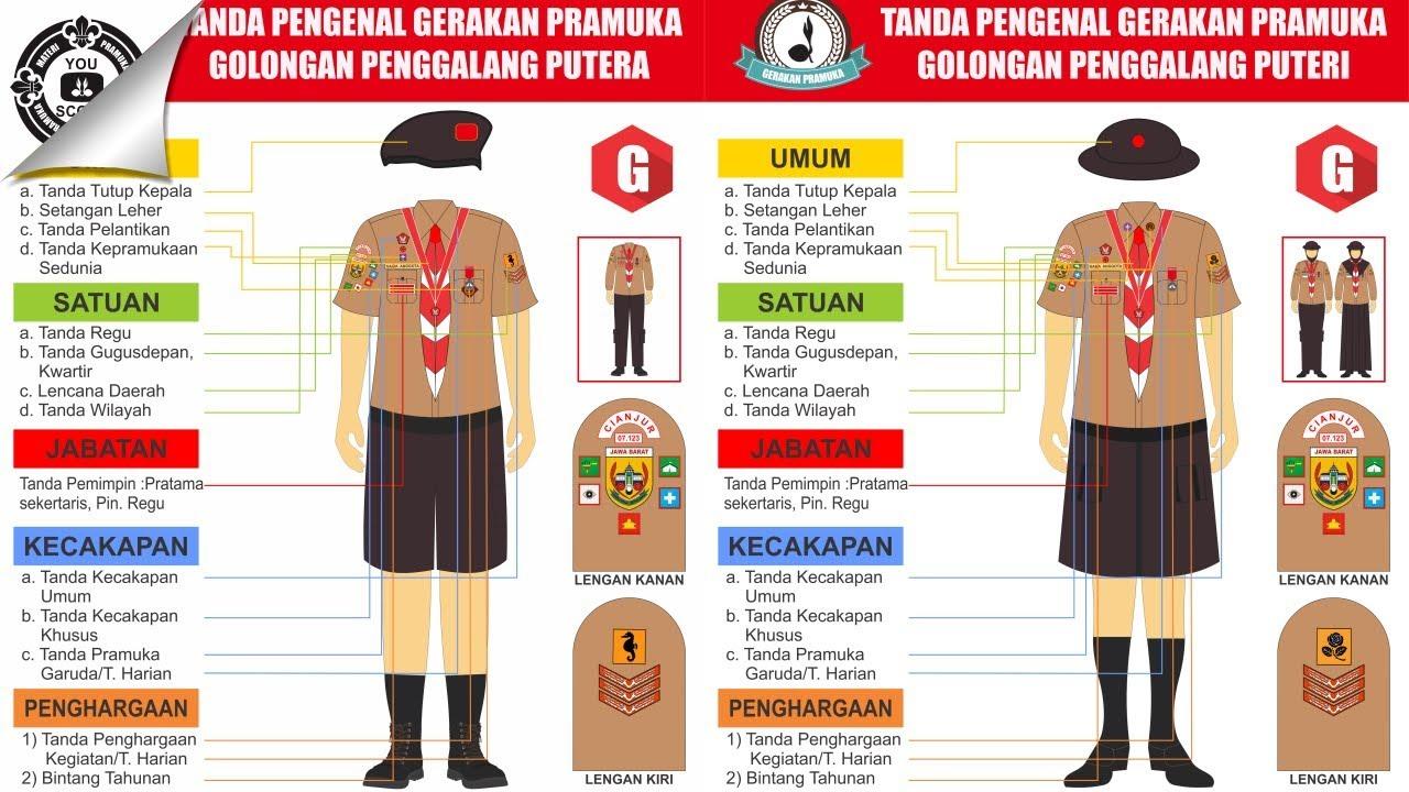 Seragam Dan Atribut Pramuka Penggalang
