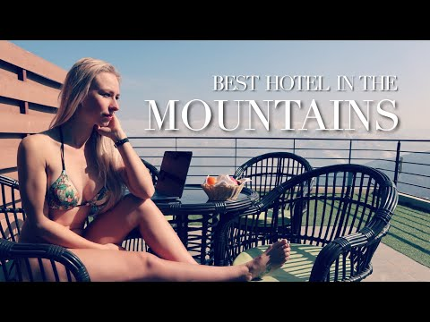 Short NEPAL HOTEL Vlog - Luxury in the Mountains??