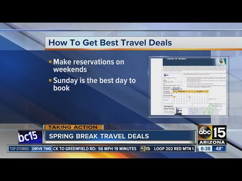 Spring Break travel deals