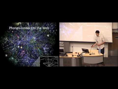 Tom Lovett, How intelligent is your mobile phone? Ignite University of Bath #4