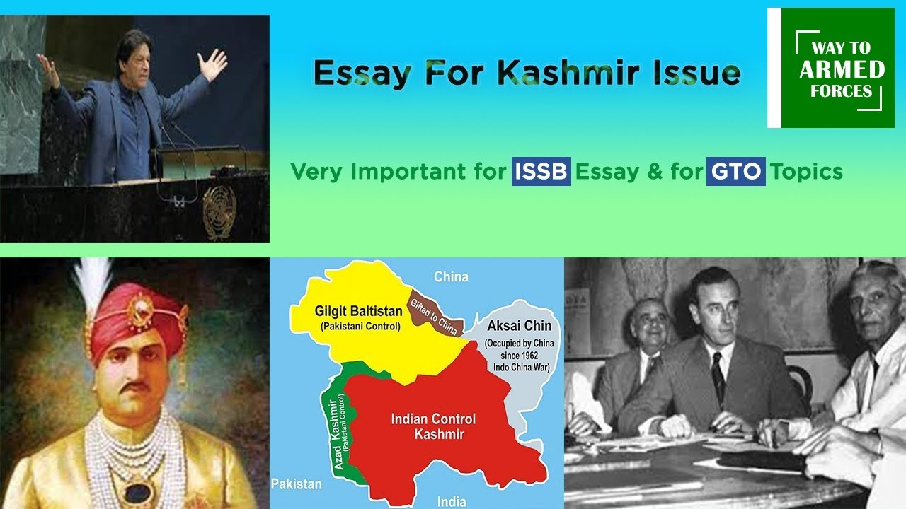 Kashmir Issue Essay II ISSB II Solution of Kashmir Issue II Should Pak Left UNO II