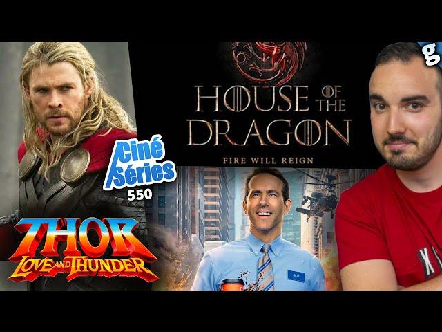 Retour dans THOR 4 LOVE & THUNDER ! Gros reports de films DISNEY ! Casting prequel Game Of Thrones