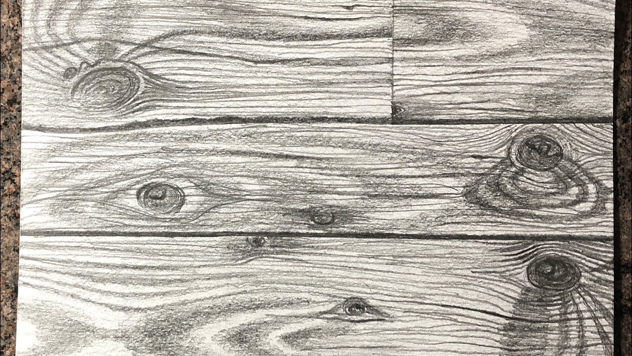 Wood Texture Sketch - Wood Texture Collection
