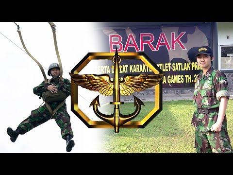Indonesia National Team - Training in Kopassus 【Elite Military Commando】