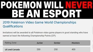 Competitive Pokemon Falls Harder - Why Pokemon Will NEVER Be An Esport