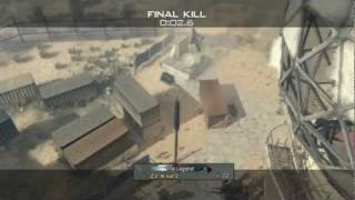 MW3 Dome SND Throwing Knife Tutorial / Throwing Knife Bomb Spots