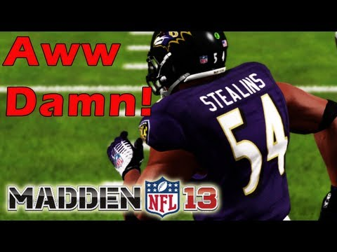 Madden 13 Connected Career Mode - Presenting Catch Stealins - Balanced MLB for the Ravens