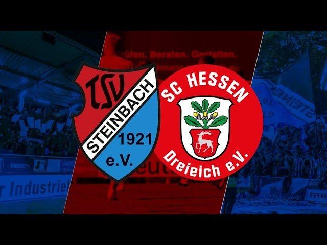 TSV Steinbach Haiger - SC Hessen Dreieich 0:1 (Regionalliga Südwest 2018-19)