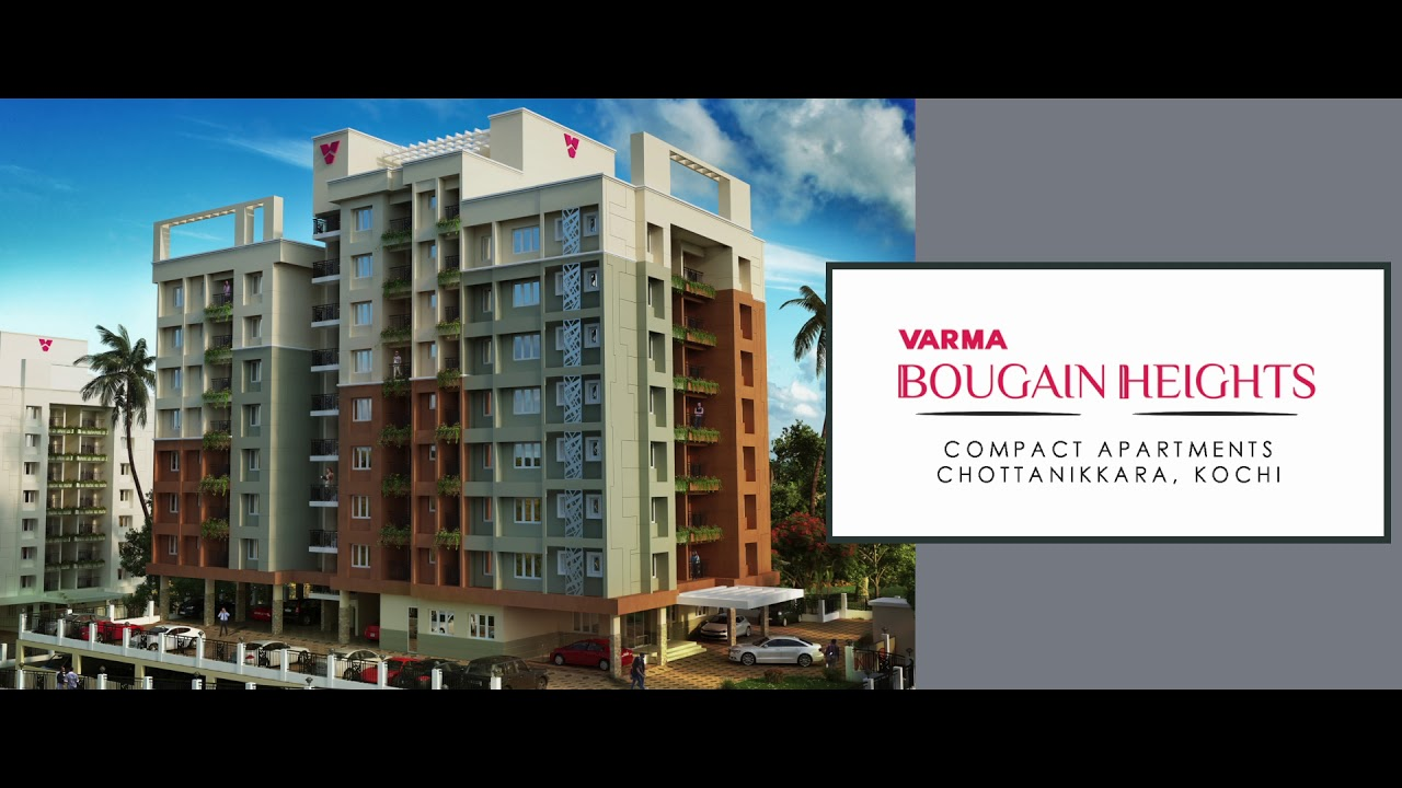 Varma Bougain Heights Affordable Apartments In Kochi Homes