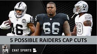 Raiders 2020 Cuts: 5 Possible Las Vegas Raiders Cap Cuts Before 2020 NFL Free Agency