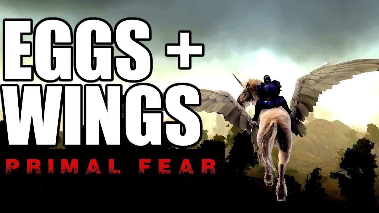 PEGASUS AND AN EGG HUNT! | ARK PRIMAL FEAR | MODDED ARK