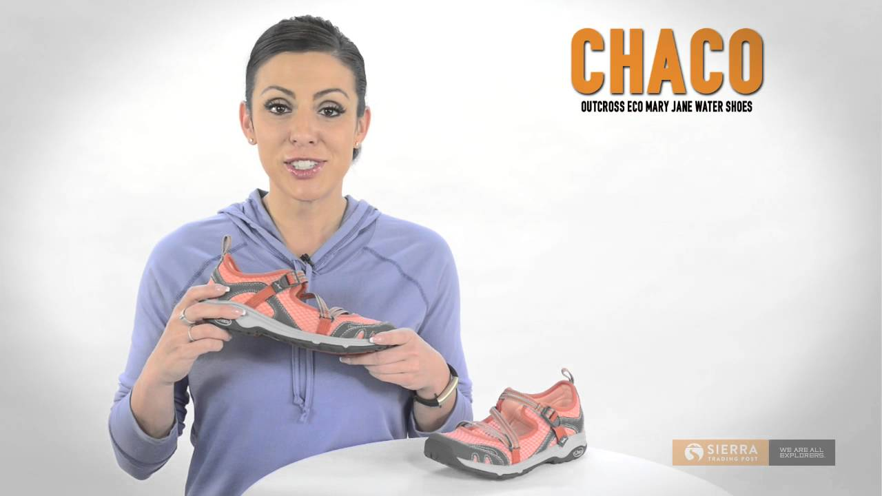 7fd99a3a679b Chaco OutCross Evo Mary Jane Water Shoes (For Women) - YouTube
