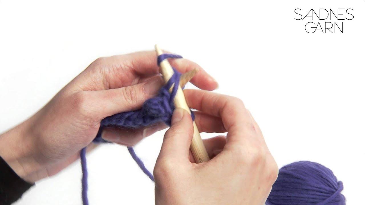 hvordan strikke vrang