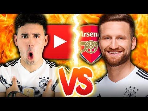 Youtuber VS Fußballprofi (mit Shkodran Mustafi)