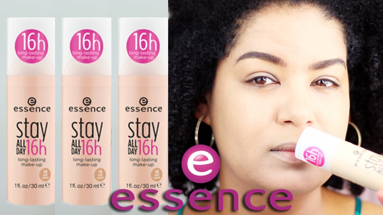 Essence Stay All Day 16 Hour Long Lasting Makeup FIRST IMPRESSION AND REVIEW