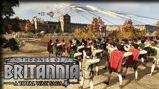 City Siege – Total War Thrones of Britannia Gameplay – Let