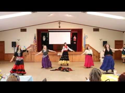 2016 UACCH Ukrainian Independence Day - Trepet - Ladies Roma Dance