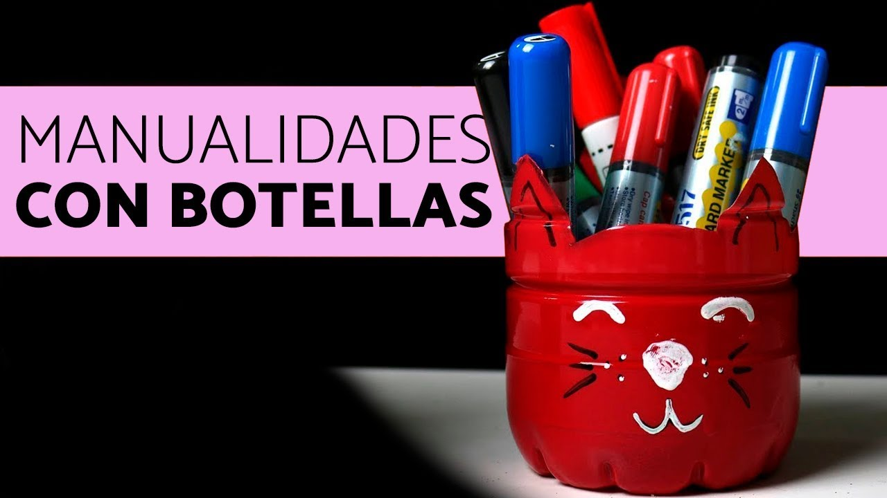 Manualidades Con Botellas Recicladas Macetas Con Botellas Youtube