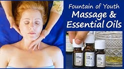 Fountain of Youth Massage & Essential Oil Blend with Aura Cacia Oils, How to, Anti-Aging, iHerb.com