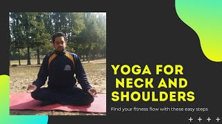 Yoga for Neck...Yoga for shoulders, office yoga...Yoga for beginners....yoga for allage