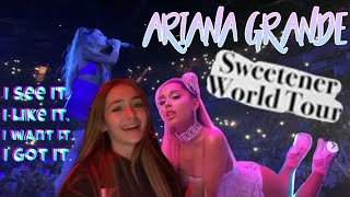 AM ÎNTÂLNIT-O PE ARIANA GRANDE😭💞 (Sweetener/Thank u, next tour VIP)👼🏼