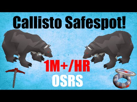 Callisto Safe Spot Guide! 1-2M/HR Money Making Oldschool Runescape (OSRS)