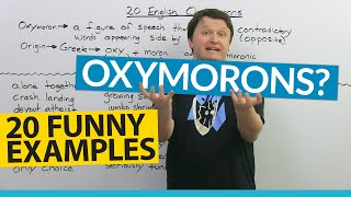 What is an oxymoron? Definition and 20 funny examples!