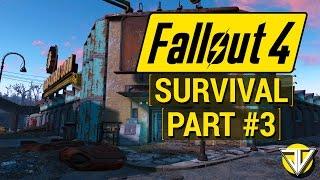 FALLOUT 4 SURVIVAL MODE Let s Play Part 3 - Super DUPER Mart PC Gameplay Walkthrough