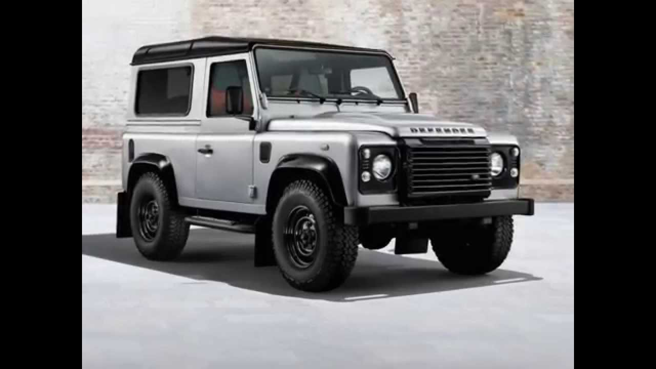 2014 Land Rover Defender Black And Silver Packs Youtube