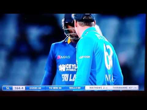 "Jos Buttler calls Sri Lanka captain Angelo Mathews a ""Cheating F**k"""