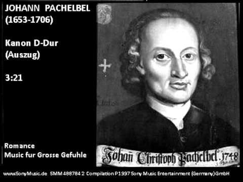 Johann Pachelbel-- Kanon D-Dur (Auszug) - most inspiring version