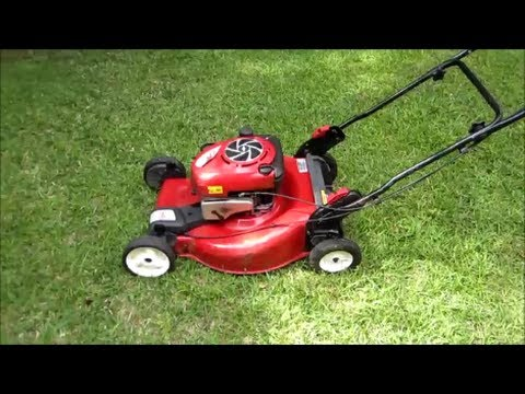 Sears Craftsman Lawn Mower Model 917.370610 Wash Oil Change My Emerald Isle Neighbor - May 10, 2014