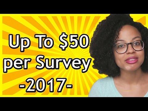 Legitimate Survey Company paid me $50