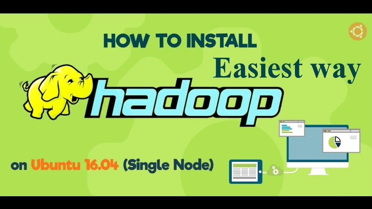 how to install hadoop on ubuntu step by step pdf