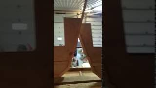 Building a Woods catamaran  part 2