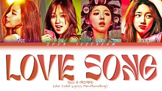 Miss A (미쓰에이) 'Love Song' (Color Coded Lyrics Han/Rom/Eng)