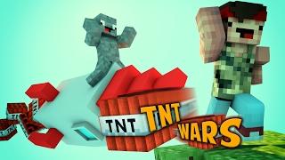 MEGA OP TNT RAKETEN | MINECRAFT TNT WARS